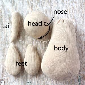 sew sock kangaroo 9