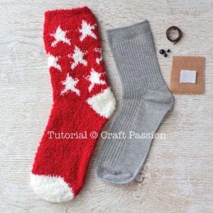 sew sock beaver 1