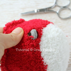 sew sock beaver 23