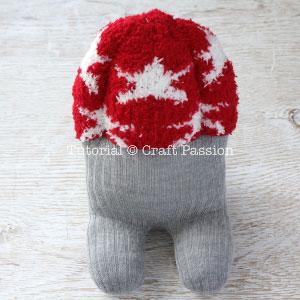 sew sock beaver 28