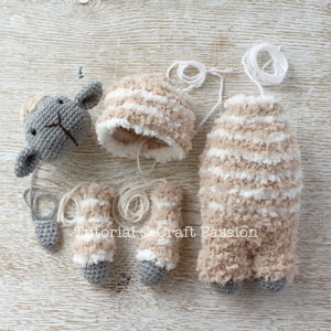 amigurumi sheep pattern 5