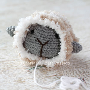 amigurumi sheep pattern 6