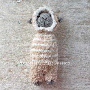 amigurumi sheep pattern 9