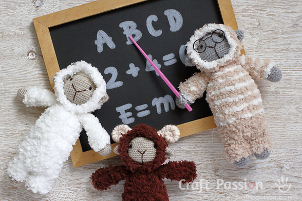 Amigurumi Sheep Crochet Pattern