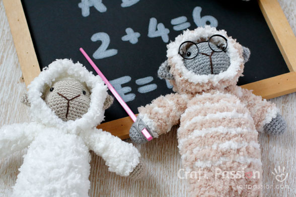 sheep crochet pattern