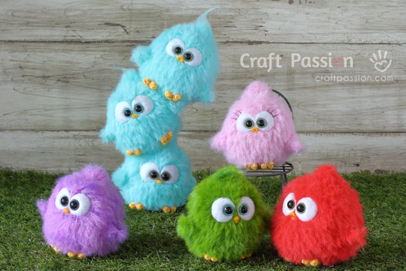 crochet bird pattern