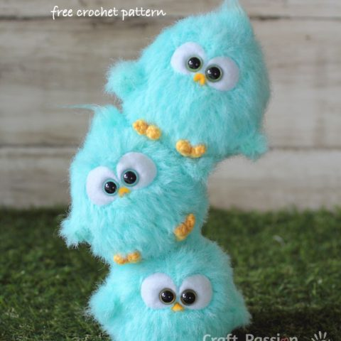 bird amigurumi pattern