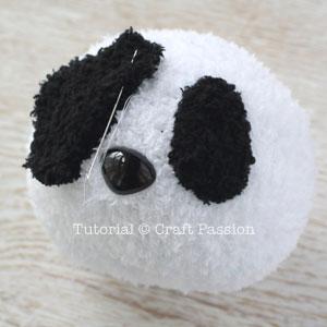 sew sock panda 12