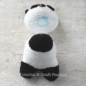 sew sock panda 19