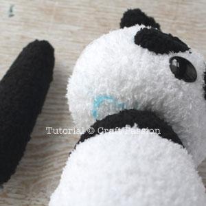 sew sock panda 22