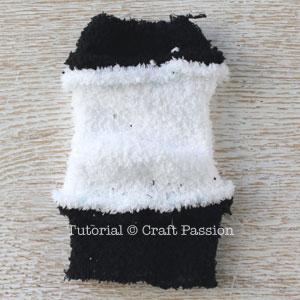 sew sock panda 6