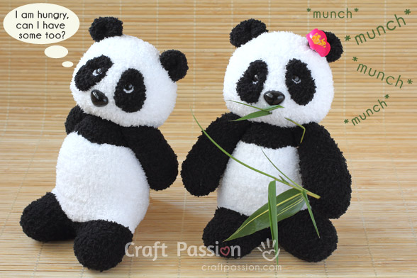 Sock Panda Sewing Pattern