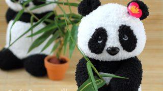 sock panda pattern