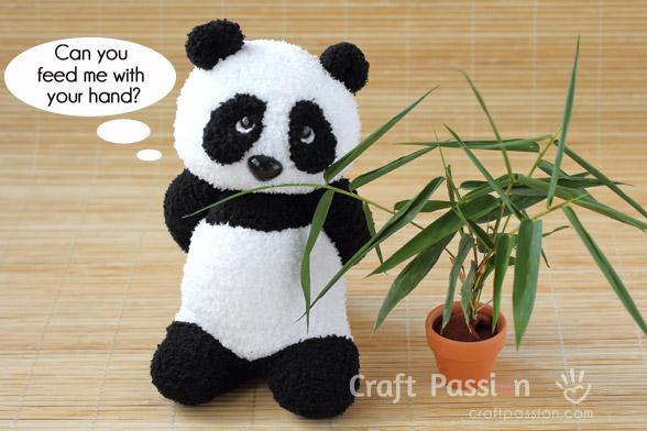 PaiPai Sock Panda
