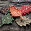 Crochet Fall Leaf