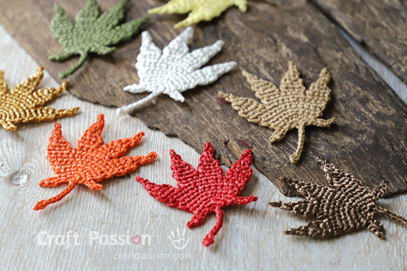 Crochet Japanese Maple Leaf