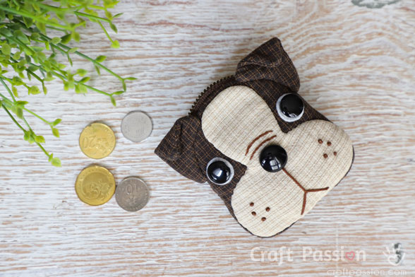 Boston Terrier Coin Purse Sewing Pattern