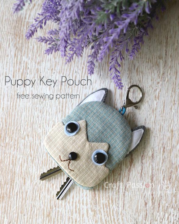 Siberian Husky Key Pouch