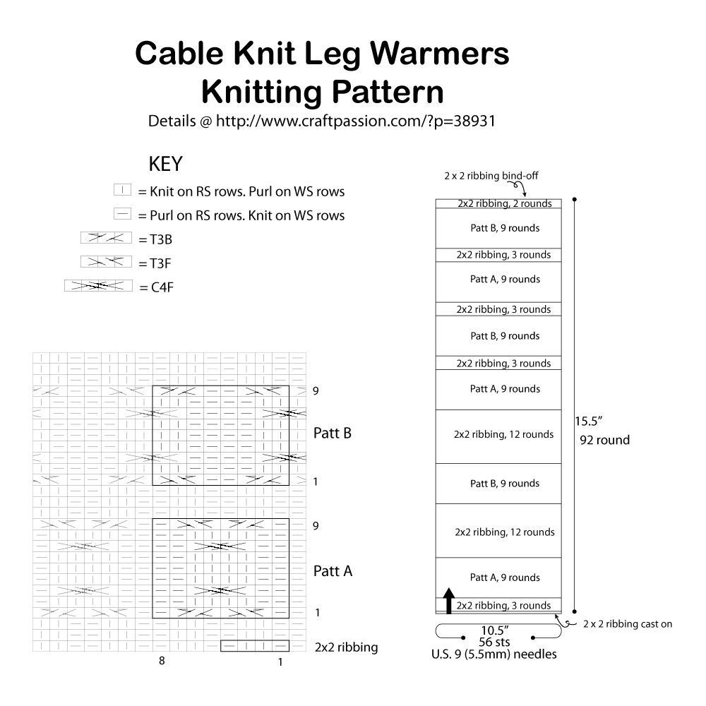 knitting pattern chart