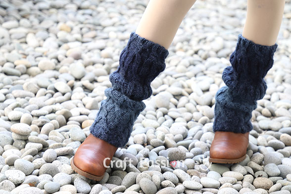 cable leg warmers
