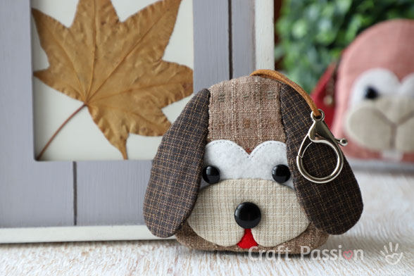 Dog Key Pouch Pattern