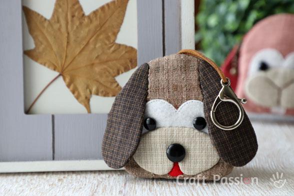 Dog Key Pouch Pattern