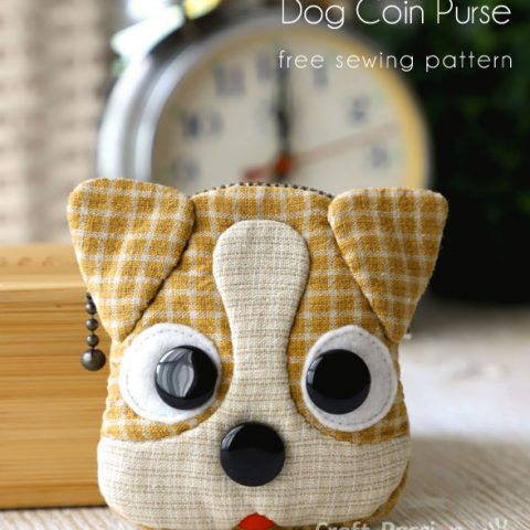 JACK RUSSELL COIN PURSE SEWING PATTERN