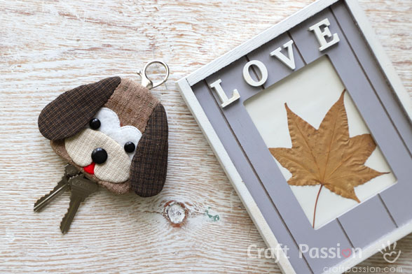 Beagle Key Holder Sewing Pattern