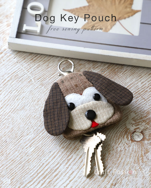 Dog Key Pouch