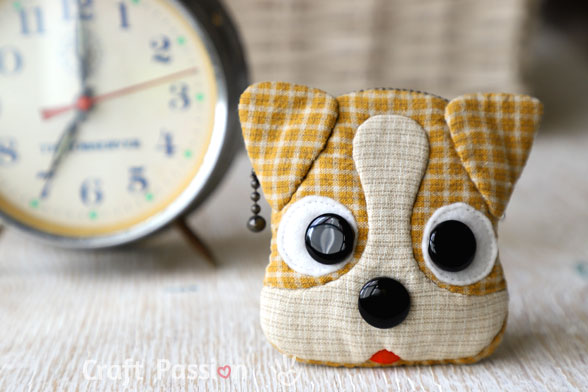 dog coin purse pattern