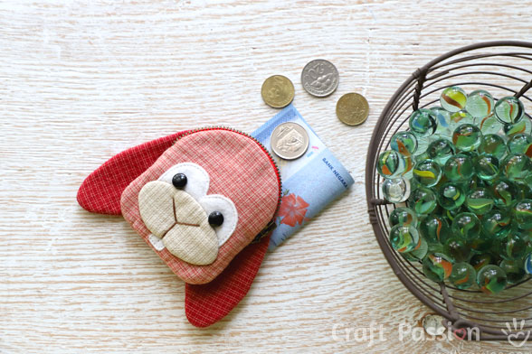 zipper bunny coin purse pattern