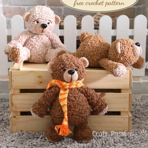 boco bear crochet pattern