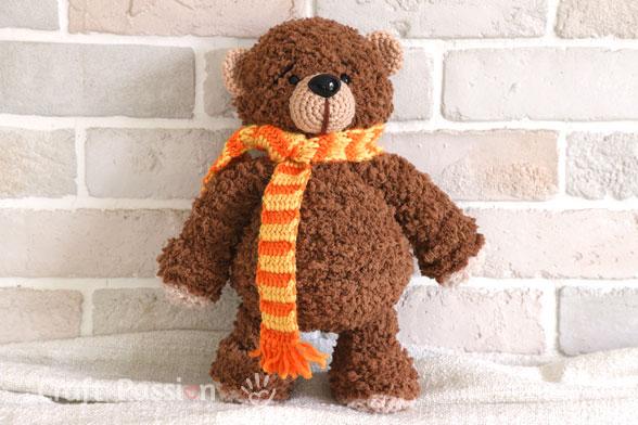 Boco Bear Amigurumi Crochet Pattern