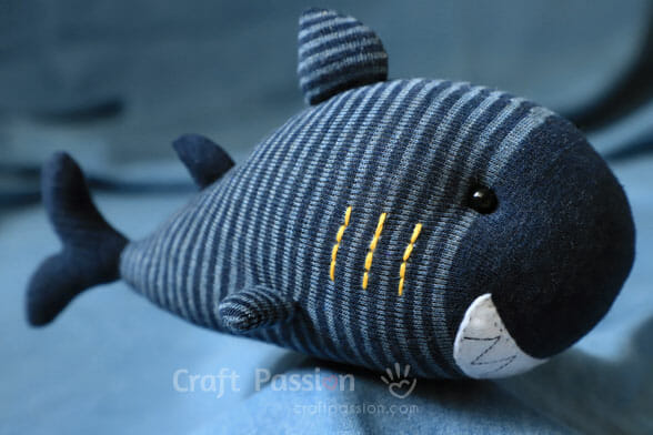 Sock Shark Sewing Pattern