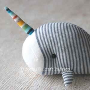 sock unicorn whale