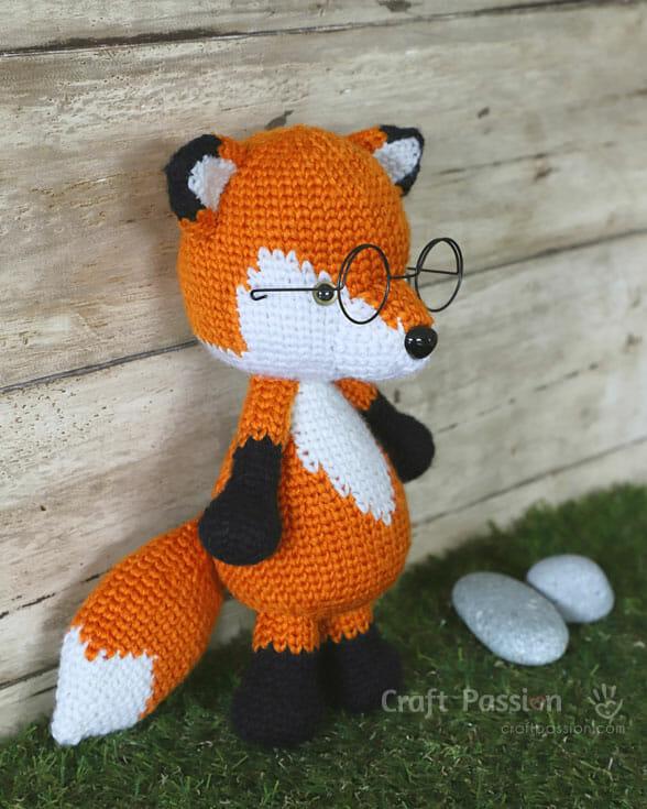 furu fox amigurumi