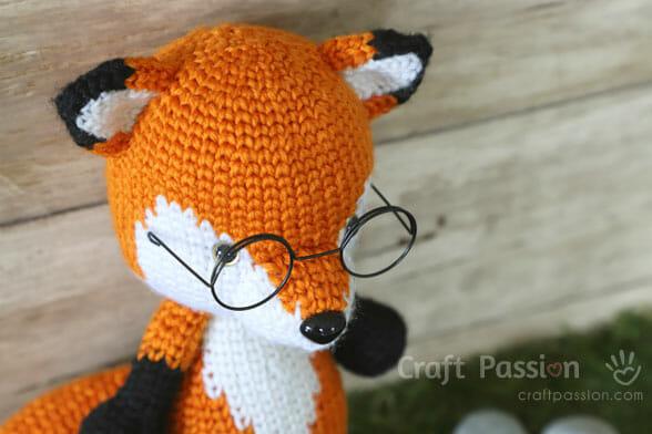 Fox Amigurumi Mr Furu Free Crochet Pattern Craft Passion