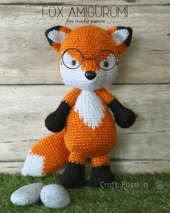 Fox Amigurumi, Mr. Furu
