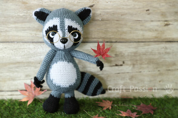 Raccoon Amigurumi Pattern
