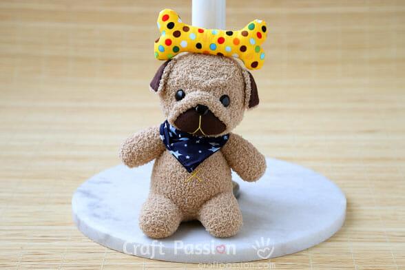 sew pug toy