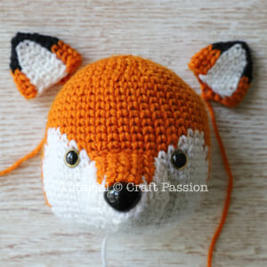 Fox Amigurumi, Mr. Furu - Free Crochet Pattern | Craft Passion | 300x300