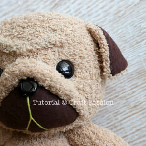 how to sew sock puppy