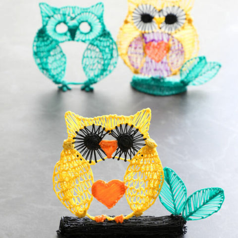 3d pen owl