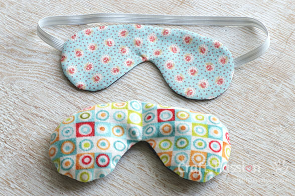 eye mask free pattern