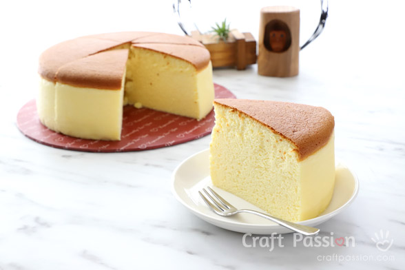 Japanese Cheesecake – Low Carb, Flourless