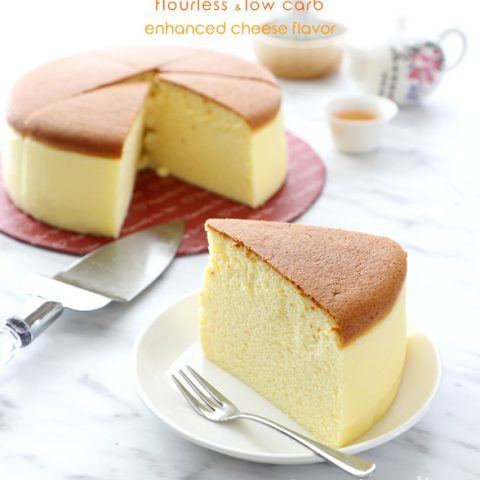 Low Carb Japanese Cheesecake Recipe