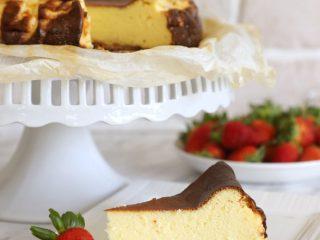 keto burnt cheesecake