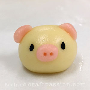 piggy german butter cookie