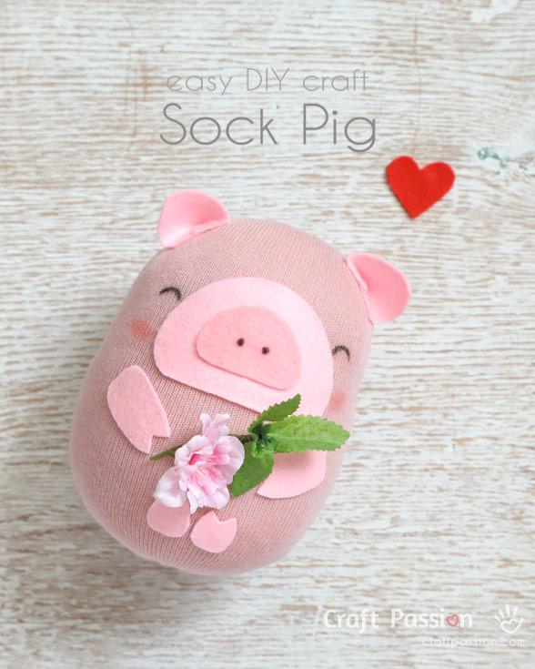 Easy Sock Pig