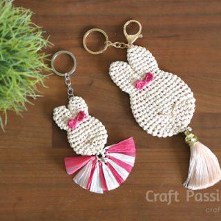 Crochet Bunny Pendant (2 Sizes)